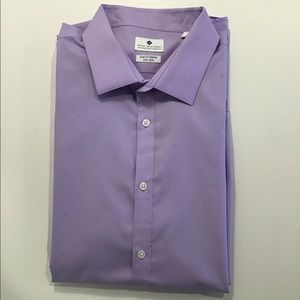 Ryan Seacrest Purple 100% Cotton Shirt